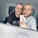 Дружина Дмитра Комарова зробила йому сюрприз на Новий рік